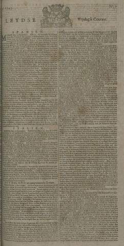 Leydse Courant 1745-01-15