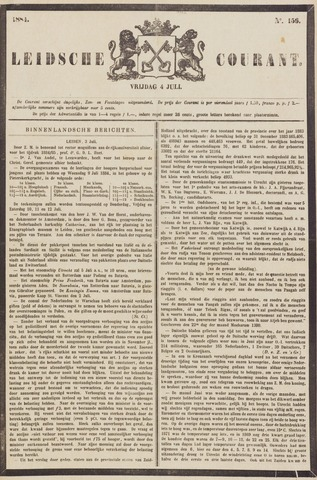 Leydse Courant 1884-07-04