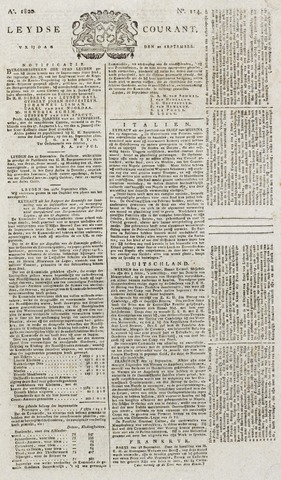 Leydse Courant 1820-09-22
