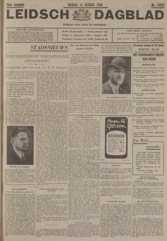 Leidsch Dagblad 1938-10-14