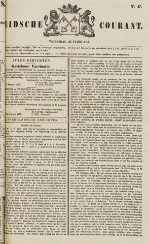Leydse Courant 1885-02-25