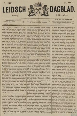 Leidsch Dagblad 1867-12-03