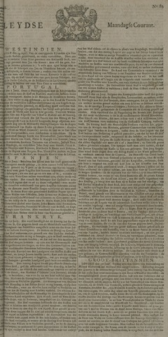 Leydse Courant 1722-07-06