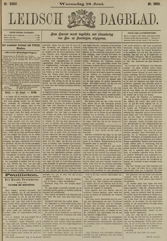 Leidsch Dagblad 1890-06-18