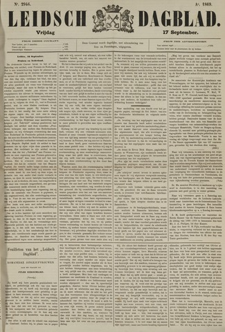 Leidsch Dagblad 1869-09-17