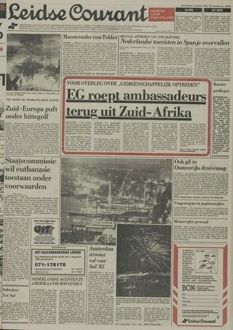Leidse Courant 1985-08-01