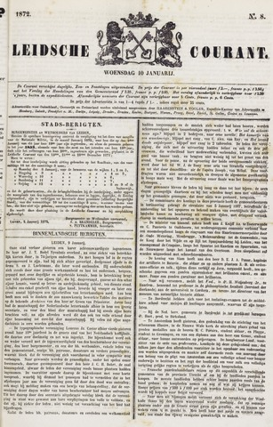 Leydse Courant 1872-01-10