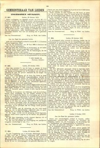 Handelingen van de Raad 1913-10-28