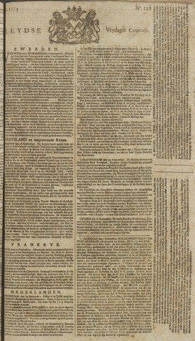 Leydse Courant 1773-10-01