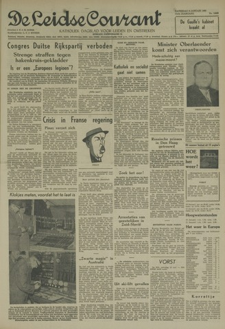 Leidse Courant 1960-01-09