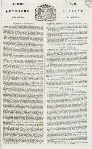 Leydse Courant 1838-01-17