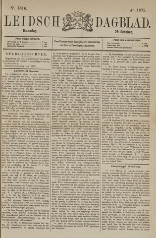 Leidsch Dagblad 1875-10-25