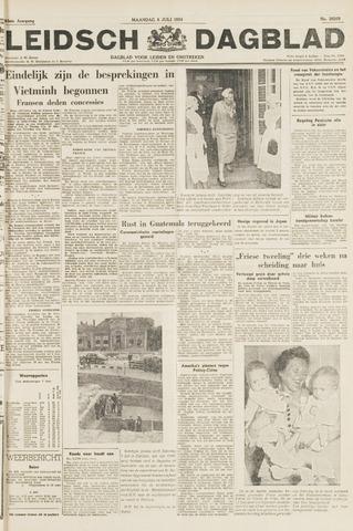 Leidsch Dagblad 1954-07-05