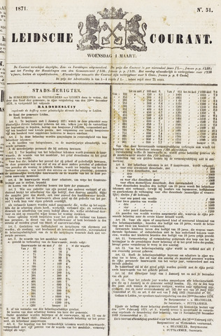 Leydse Courant 1871-03-01