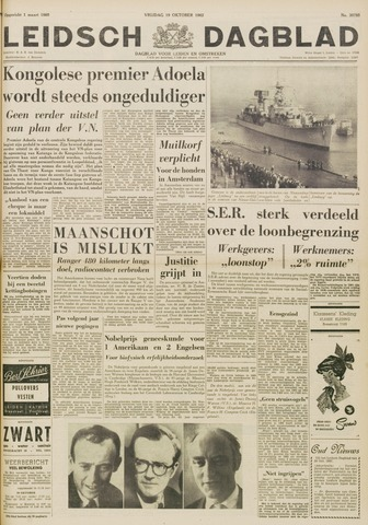 Leidsch Dagblad 1962-10-19