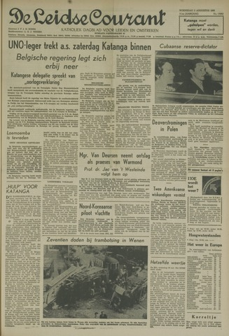 Leidse Courant 1960-08-03