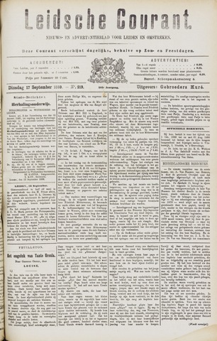 Leydse Courant 1889-09-17