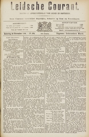 Leydse Courant 1889-11-23