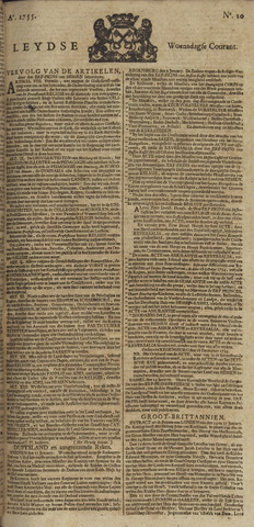 Leydse Courant 1755-01-22
