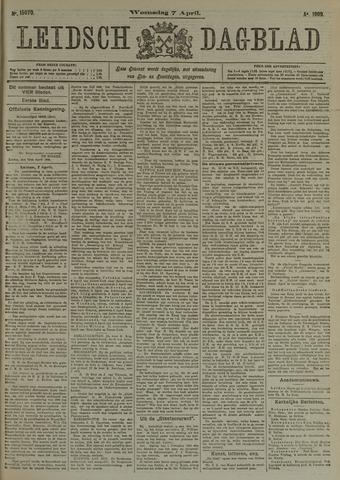 Leidsch Dagblad 1909-04-07