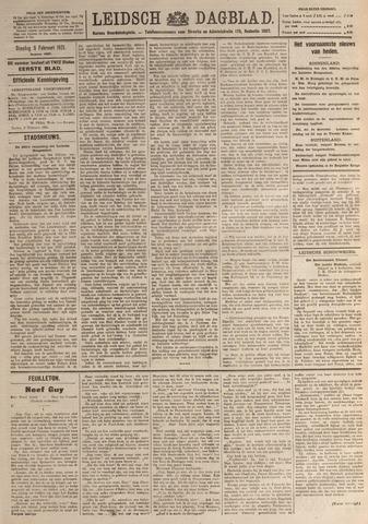 Leidsch Dagblad 1921-02-08