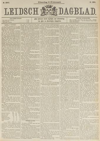 Leidsch Dagblad 1894-02-06