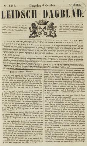 Leidsch Dagblad 1863-10-06
