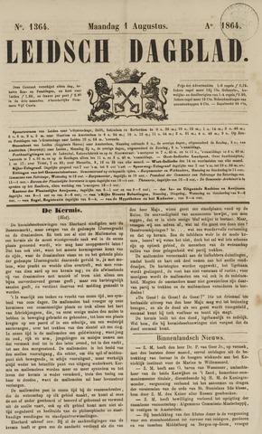 Leidsch Dagblad 1864-08-01