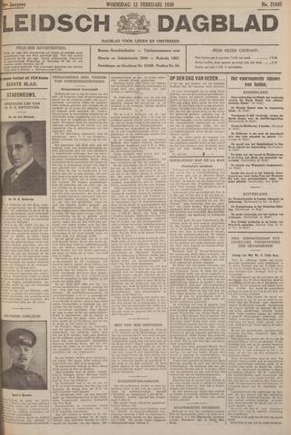 Leidsch Dagblad 1930-02-12