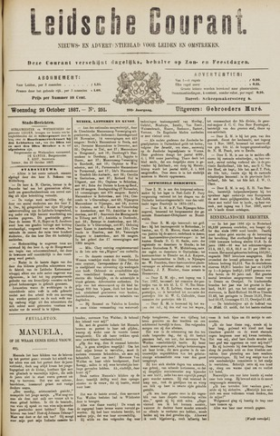 Leydse Courant 1887-10-26