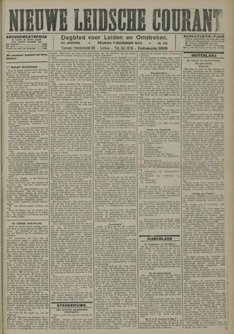 Nieuwe Leidsche Courant 1923-12-07