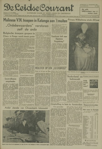Leidse Courant 1960-08-24