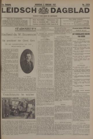 Leidsch Dagblad 1937-02-03