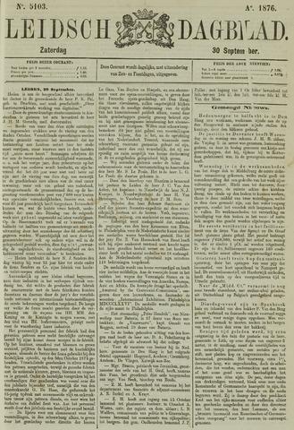 Leidsch Dagblad 1876-09-30
