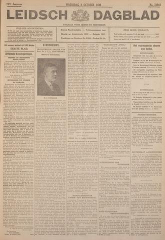 Leidsch Dagblad 1930-10-08