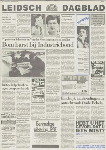 Leidsch Dagblad 1988-01-13