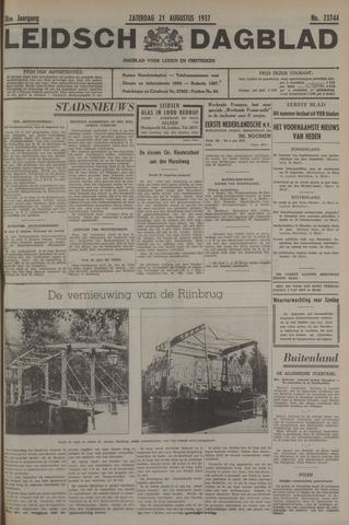 Leidsch Dagblad 1937-08-21