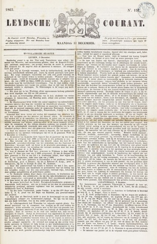 Leydse Courant 1865-12-11