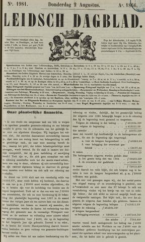 Leidsch Dagblad 1866-08-02