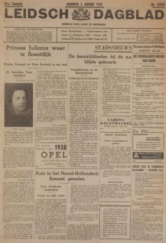 Leidsch Dagblad 1938