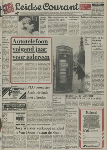 Leidse Courant 1984-11-28