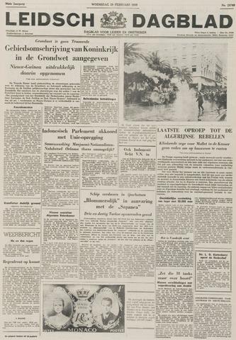 Leidsch Dagblad 1956-02-29