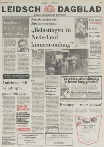 Leidsch Dagblad 1978-07-07