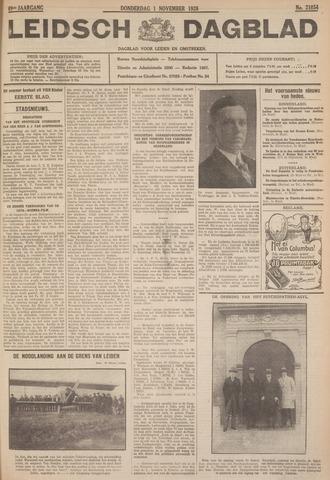 Leidsch Dagblad 1928-11-01