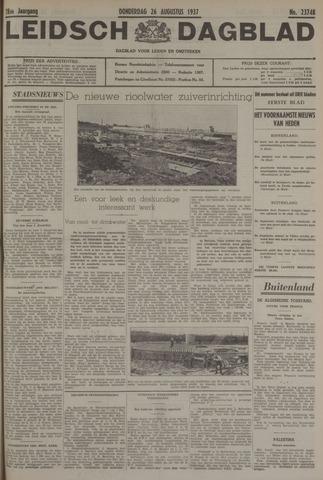 Leidsch Dagblad 1937-08-26