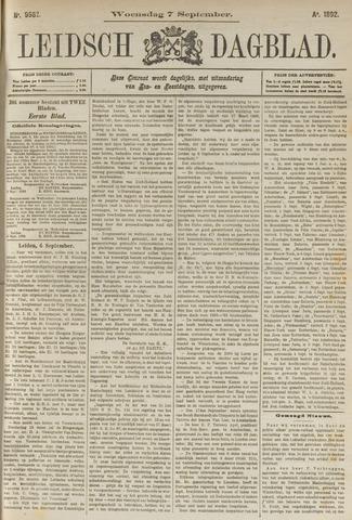 Leidsch Dagblad 1892-09-07