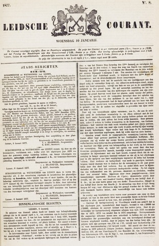 Leydse Courant 1877-01-10