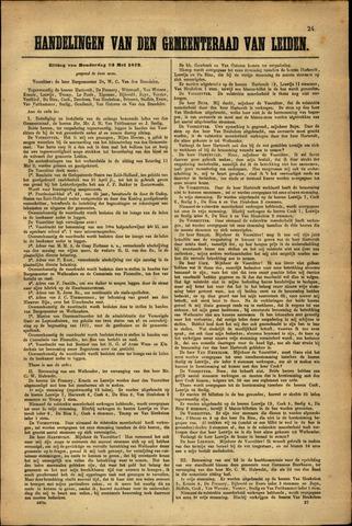 Handelingen van de Raad 1872-05-23