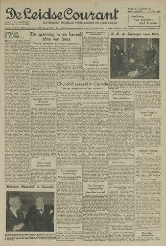 Leidse Courant 1952-01-15