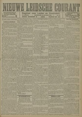 Nieuwe Leidsche Courant 1921-10-19
